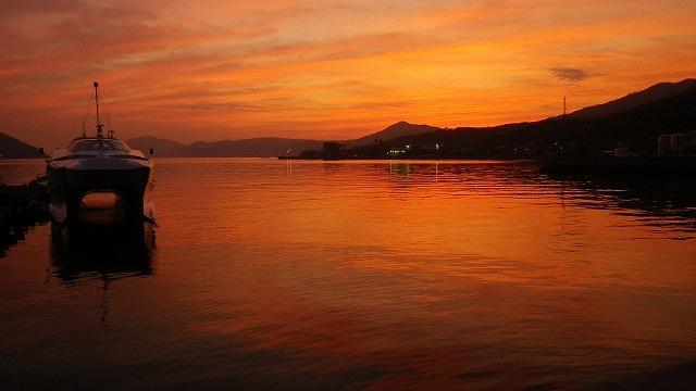 草壁港の今は無き高速艇 かっこよかったな 再開はまだか 小豆島