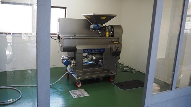 オリーブオイル 搾油機