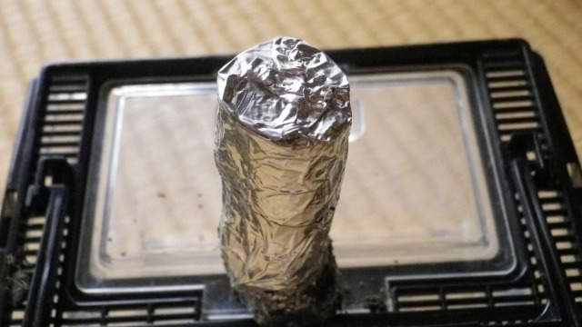 オリーブアナアキゾウムシ産卵防止素材 アルミ箔