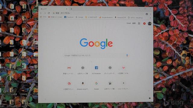 グーグル画面
