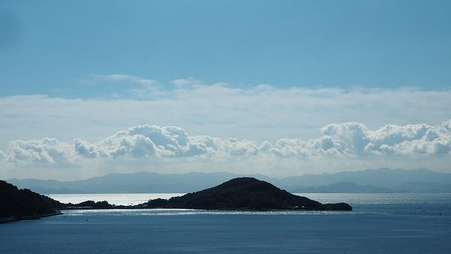 晩秋の内海湾・小豆島