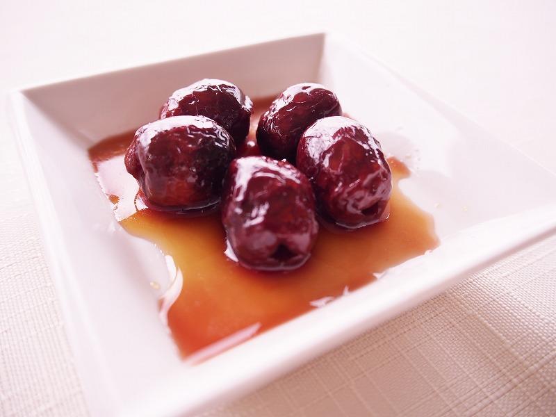 小豆島産有機オリーブのメープルシロップ漬け