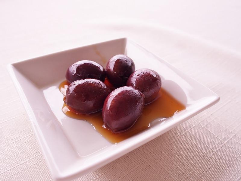 小豆島産有機オリーブのブランデー漬け