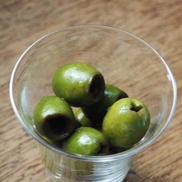 小豆島産有機オリーブの塩漬け