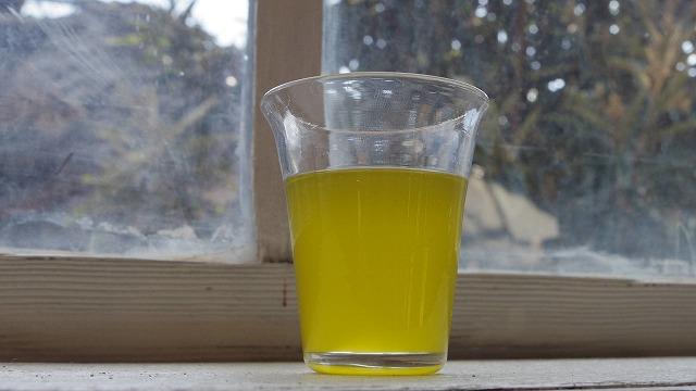 無濾過のオリーブオイル