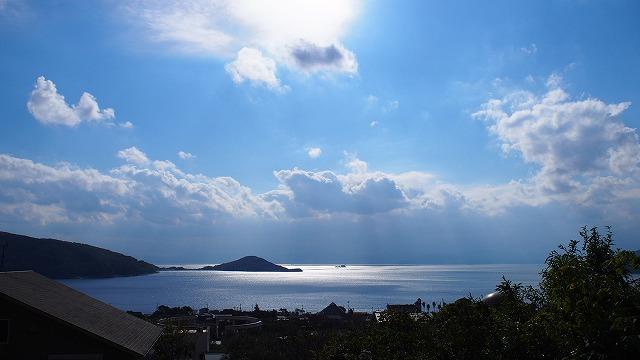 冬の小豆島・内海湾