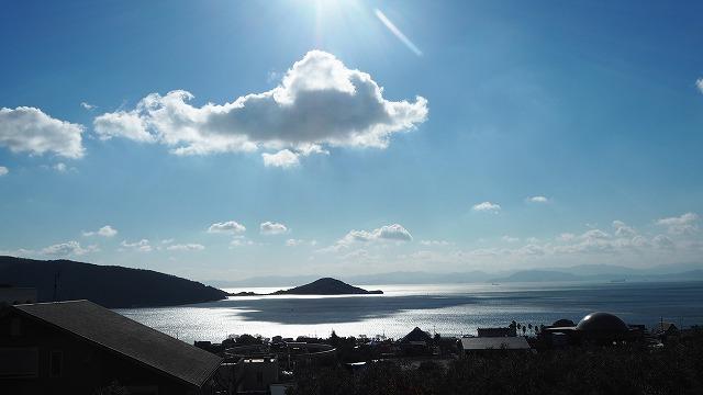 小豆島・冬の内海湾