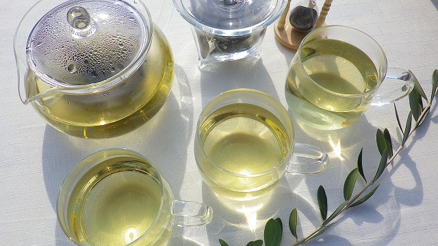 国産有機オリーブ茶