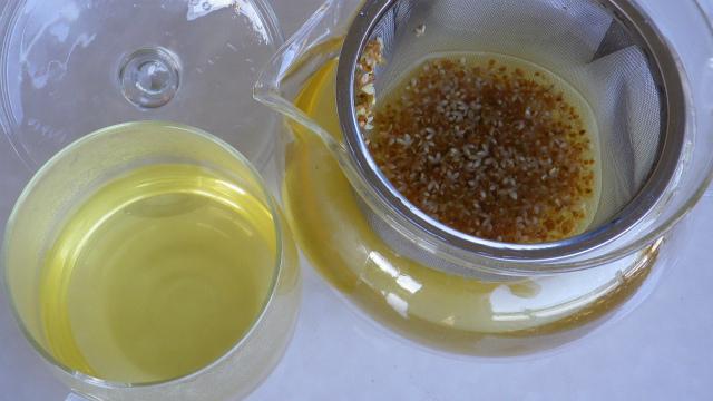 オリーブの花茶