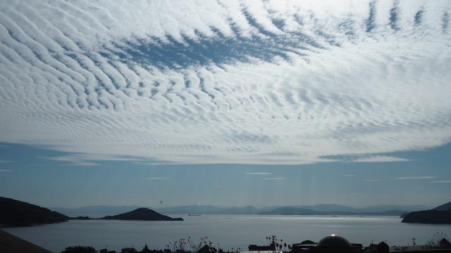 11月の内海湾・小豆島