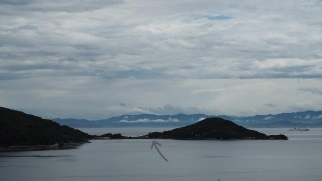梅雨・小豆島・内海湾