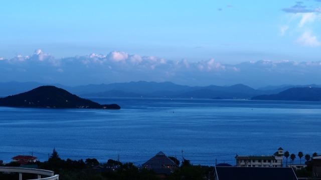 小豆島から瀬戸内海