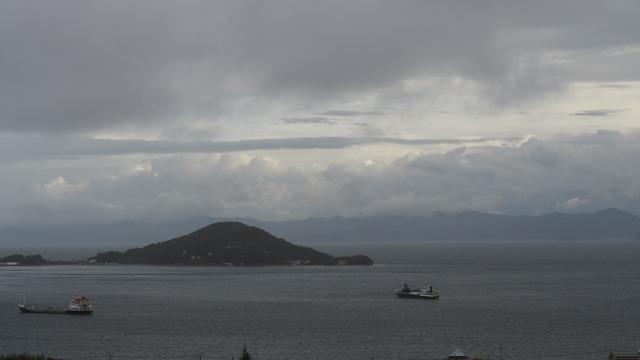 2020年台風10号小豆島