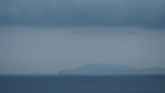 小豆島・内海湾秋の海