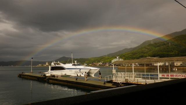 小豆島・草壁港高速艇の桟橋