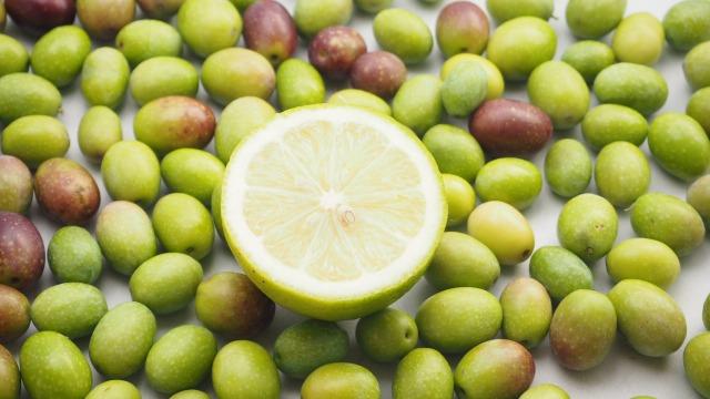 レモンとオリーブ