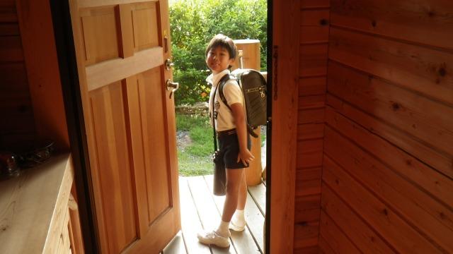 小学校への登校
